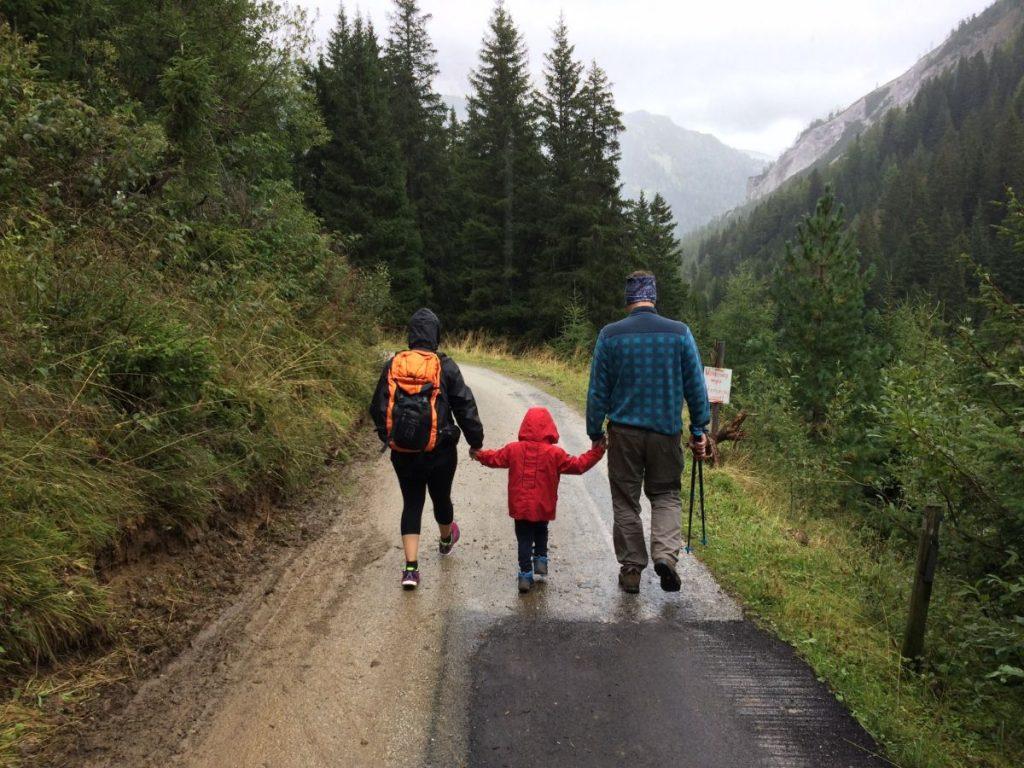 wycieczka rodzina